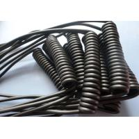 Retractable Spiral Power Cable , 2 Core Coiled Electrical Cord High Flexibility