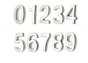China 0 - 9 Door Address Number Stickers For Mailbox Apartment Upgrade Model on sale