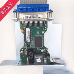 Original network card for Barcode printer Zebra 105sl built