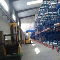 China Heavy Duty Radio Shuttle Racking System Custom Size For Warehouse Storage on sale