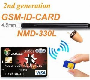 China Spy Wireless GSM Id Card With Nano Earpiece High quality cheap spy gsm box 330l Spy wireless bluetooth earpiece earphone on sale