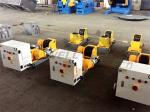 Welding Pipe Turning Rolls Light Duty 2 Ton Driving 1000mm Pipe Compacted