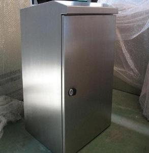China Stainless Steel Electrical Enclosure Cabinet For Industrial Electronic Equipment on sale