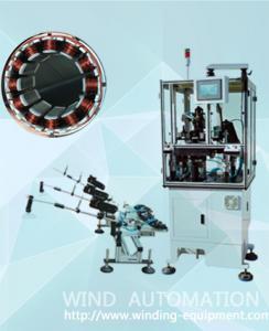 China Three needle 3slots per time  BLDC Stator winder needle winding for 6pole 9pole 12 poles brushless motor on sale