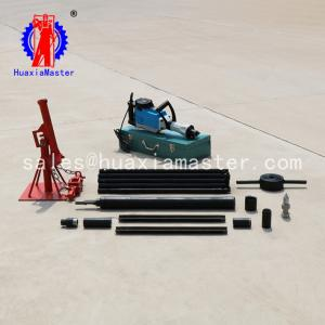 China huaxiamaster supply  electric sampling drill machine /light soil drilling rig QTZ-3D for sale waterless no pollution on sale