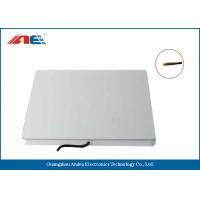 Silver Color Flat RFID Reader Antenna High Read Rate 300 * 300 * 23MM Size