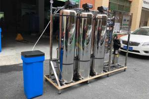 China 1.5TPH Hard Water Softener System / Treatment Systems With Stainless Steel Tank on sale
