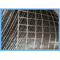 Hot DIP / Electro Galvanized Welded Wire Mesh 0.8mm * 1.5m High for Afghanistan