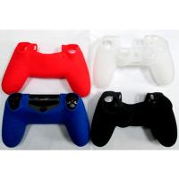 Protective Thumb stick Soft Silicon Cover Case for PS4 Controller