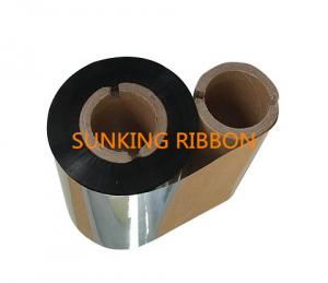 China High Quality Wax Ribbon Thermal Transfer Ribbon Barcode Label Clear Printing WT on sale