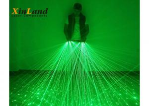 China Green Outdoor Powerful Laser Light Projector 532nm Dj Laser Lights Nylon Material on sale