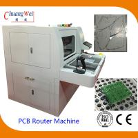 Double Station PCB Router Machine With Auto Routing Bit Checker
