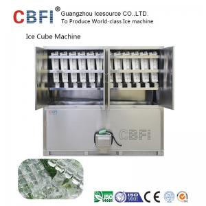 China Large 20 Tons Edible Ice Cube Machine With r22 Gas For Beverage Shop on sale