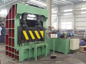 China Open Style Feed Box Scrap Metal Shear For Iron And Copper , Hydraulic Plate Shear on sale