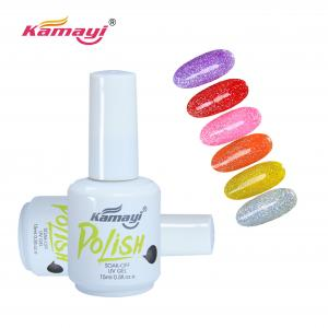 China 3 Step 65g OEM ODM Colored 15ml Neon Gel Nail Polish on sale
