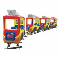 China high quality amusement track train children indoor track train playground for sale on sale