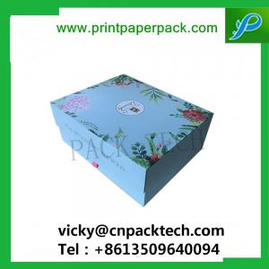 Customized Cardboard Foldable Multiple Compartments Packaging Box
