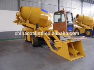 China construction machine concrete mixer trailer pump/concrete mixer prices in China on sale
