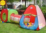 Портативная машинка ягнится шатер театра с набором тоннеля, игрушками шатра шарика театра прыжка потехи