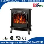 electric fireplace heater log burning flame effect antique electric stove ND-184M cheap space heater indoor heater