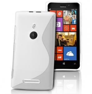 China Eco-friendly TPU Phone Case Slim , PU Leather Nokia Lumia 925 Covers on sale