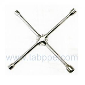 Quality S1214-reinforced chrome Cross Rim Wrench/X Type hex key Wrench/Cross tire 4 way wrench for sale