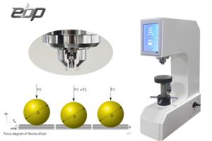 China Digital Rockwell Hardness Testing Machine Durometer with Rockwell Hardness Chart Table on sale