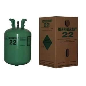 China R22 HCFC-22 colorless non - flammable home air conditioner R22 refrigerant gas on sale