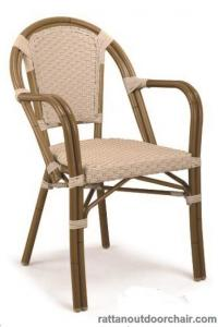 China LJC034 Outdoor bamboo rattan chinese restaurant chairs on sale