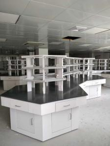 China Commercial Laboratory Furniture,Metal Laboratory Workbench,Steel-Frame PP Workbench on sale