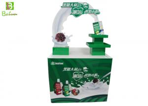 China Dairy Theme Design POS Display Stand POP Promotional Showcase Stands on sale