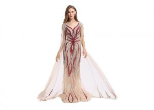 China Fashion Ladies Long Wedding Dresses Gown 62 Inch For Formal Evening Party on sale