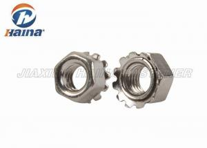 China Stainless Steel 304 316 316L M8 Keps K - Lock Nuts With Free Spinning Washer on sale