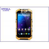 China WCDMA A9 Rugged Waterproof Mobile Phone , Dual Camera Dual Sim Card Slot on sale