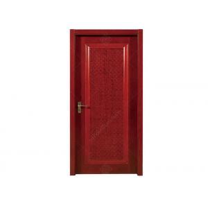 China Durable Internal Hardwood Doors , Solid Core Interior Doors Warmth Preserved on sale