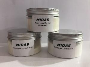 China Fluid loss control agent (FLC/FLA) Salt water by MIDAS on sale
