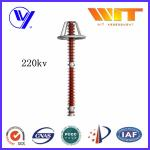 220KV Metal Oxide High Voltage Surge Arrester with Good Sealing Capability