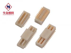 China Wafer Vertical 1.0mm PCB Wire To Board Power Connector on sale