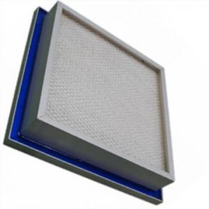 China ULPA High Sealing HEPA Air Filter Aluminum Frame For Hospital / Pharmaceutical on sale