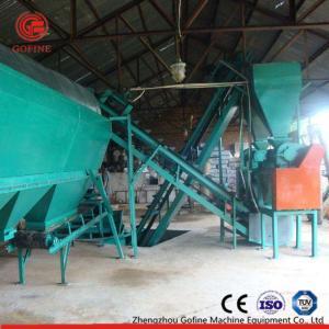 China Green Organic Fertilizer Production Line / Double Roller Fertilizer Pellet Machine on sale