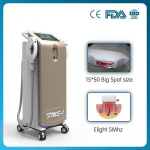 China promotion !!! big spot size high energy 2 handles vertical shr hair removal machine on sale