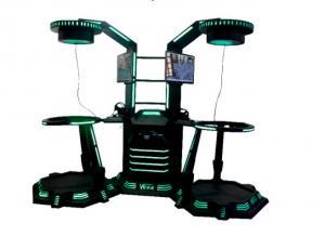 China VR Walk Shooting Game Machine Virtual Reality 9D Flight Simulator on sale