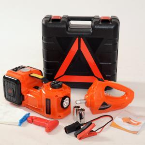 China hot sale portable emergency tool electric jack with impact wrench and air compressor on sale