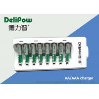 Safety 2 / 4 / 6 / 8 Aa Battery Charger For NIMH Rechargeable Battery