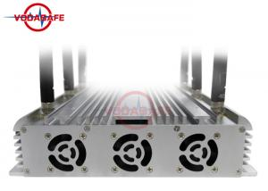 China 15W / Band Mobile Phone Signal Jammer With High Gain Omni - Directional Antenna on sale