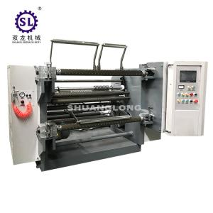 China SLFQ Paper Roll Slitter Rewinder Machine with Heavy Duty Structure on sale