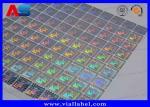 3D Custom QR Code Serial Number Hologram Sticker Label Printing