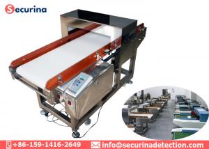 China Cusomize Tunnel Size Industrial Metal Detector Conveyor In Food Processing Industries on sale