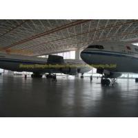 China Pre Design Steel Airplane Hangars Aircraft Hangar Buildings 39M X 32M on sale