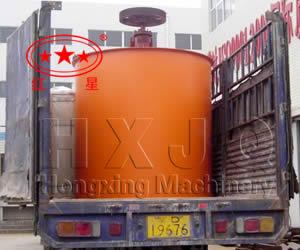 China mineral mixing barrel on sale